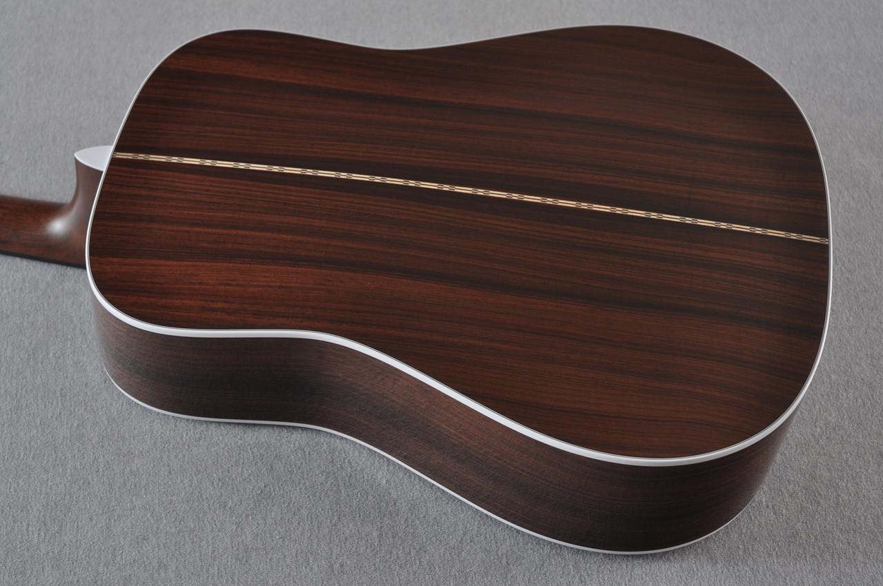 2017 Martin D-28 Standard 1935 Sunburst Dreadnought Acoustic Guitar #2079655 - Back