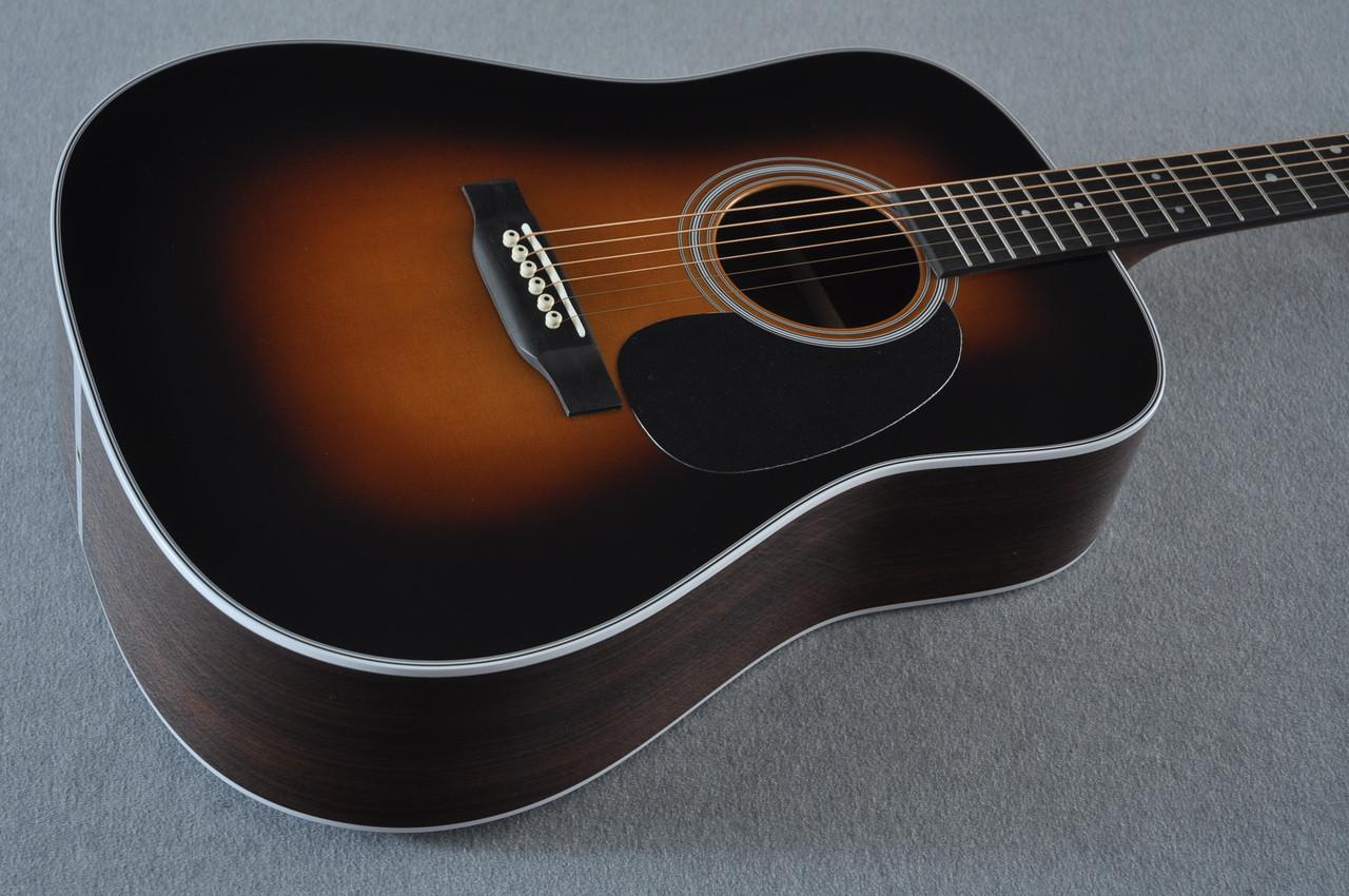 2017 Martin D-28 Standard 1935 Sunburst Dreadnought Acoustic Guitar #2079655 - Beauty