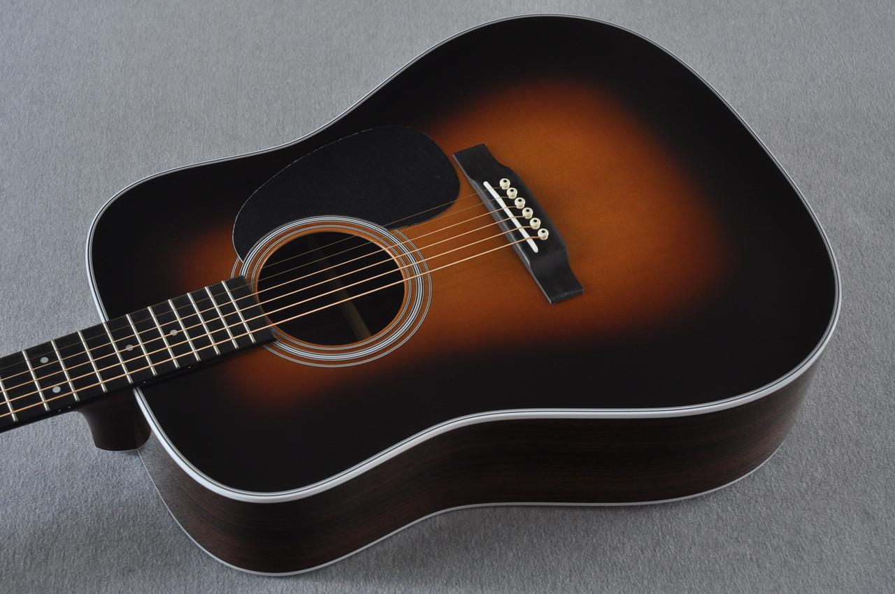 2017 Martin D-28 Standard 1935 Sunburst Dreadnought Acoustic Guitar #2079655 -Reverse Beauty
