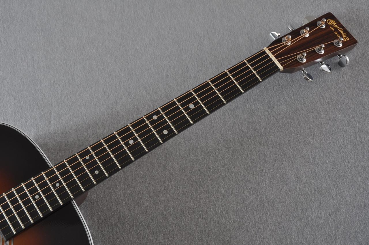 2017 Martin D-28 Standard 1935 Sunburst Dreadnought Acoustic Guitar #2079655 - Neck