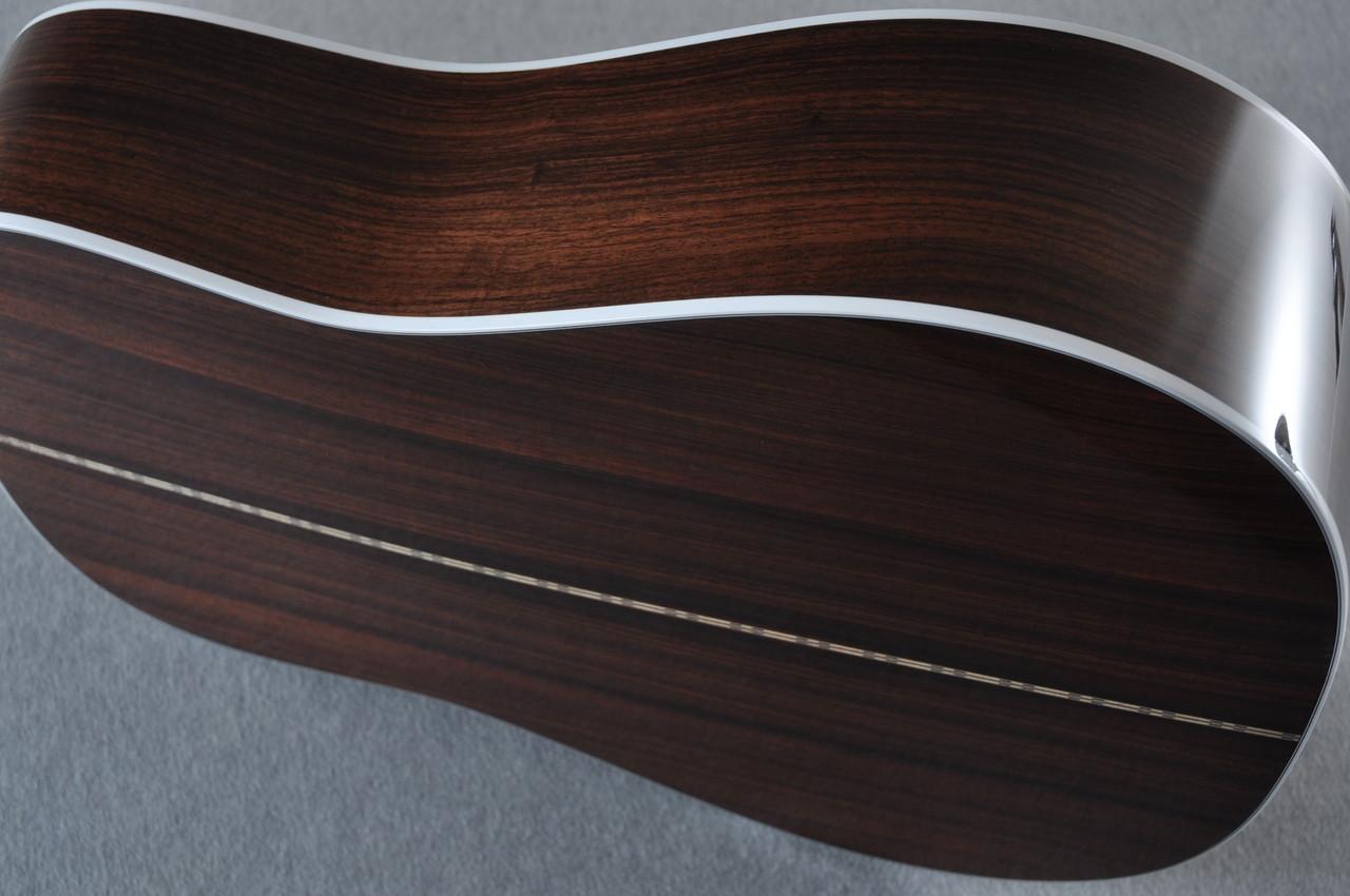 2017 Martin D-28 Standard 1935 Sunburst Dreadnought Acoustic Guitar #2079655 - Side