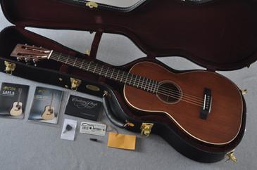 2017 Martin Custom Shop 0-15 12 Fret Acoustic Guitar #2105112 - Case