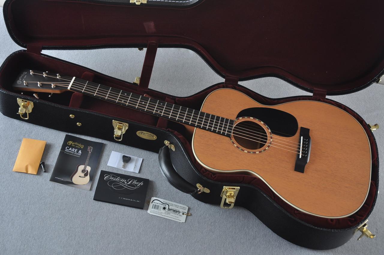 martin custom shop 000 15 tangerine acoustic guitar 2109318. Black Bedroom Furniture Sets. Home Design Ideas