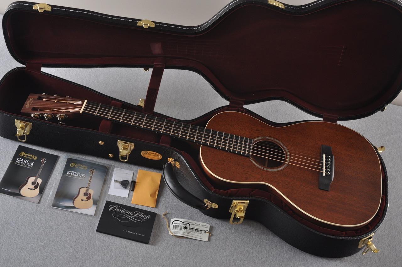 martin custom shop 0 15 12 fret acoustic guitar 2105113. Black Bedroom Furniture Sets. Home Design Ideas