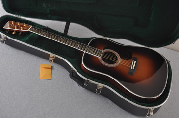 Used 2011 Martin D-41 Standard 1935 Sunburst Acoustic Guitar #1486469 - Case
