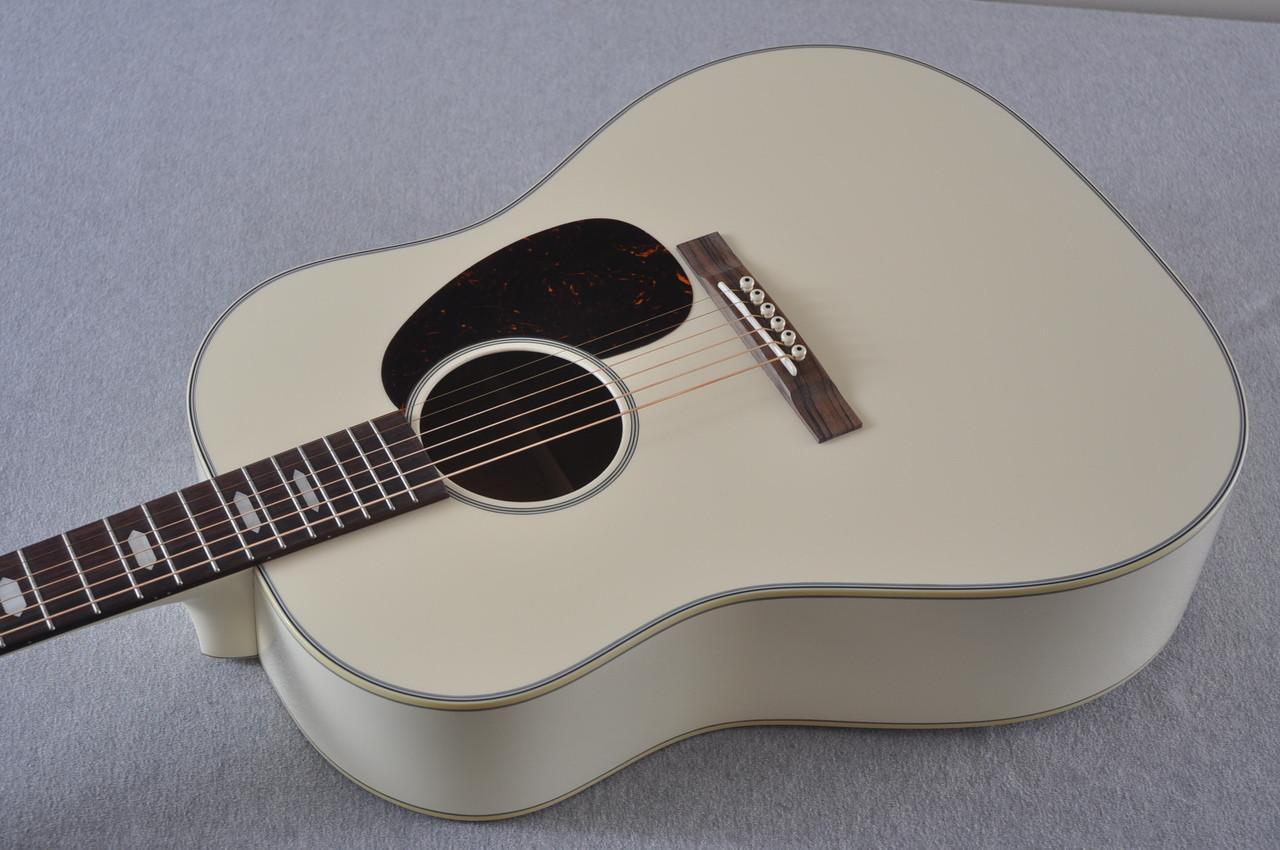 Martin Custom Shop D-18 Slope Adirondack Short Scale Antique White Guitar #2027455 - Reverse Beauty