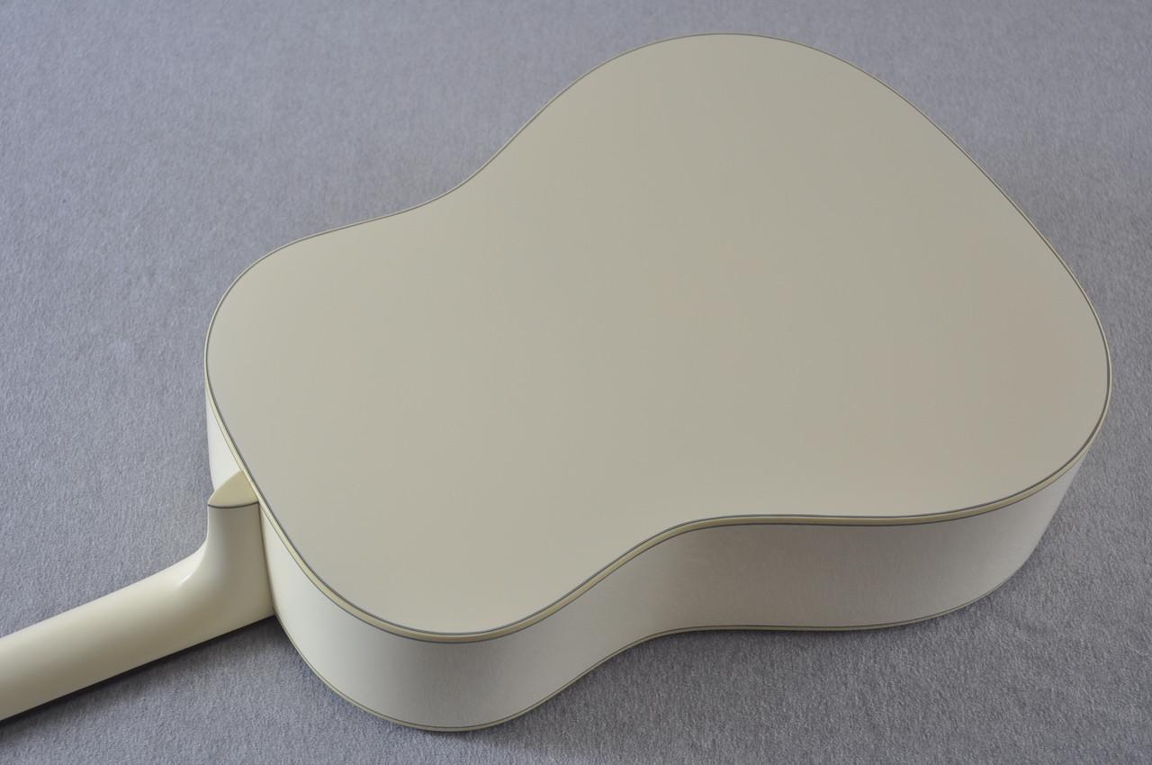 Martin Custom Shop D-18 Slope Adirondack Short Scale Antique White Guitar #2027455 - Back