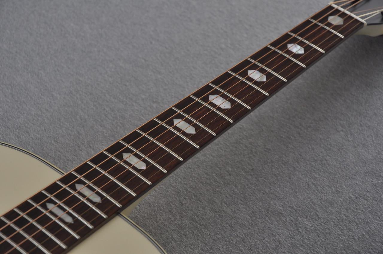 Martin Custom Shop D-18 Slope Adirondack Short Scale Antique White Guitar #2027455 - Inlay