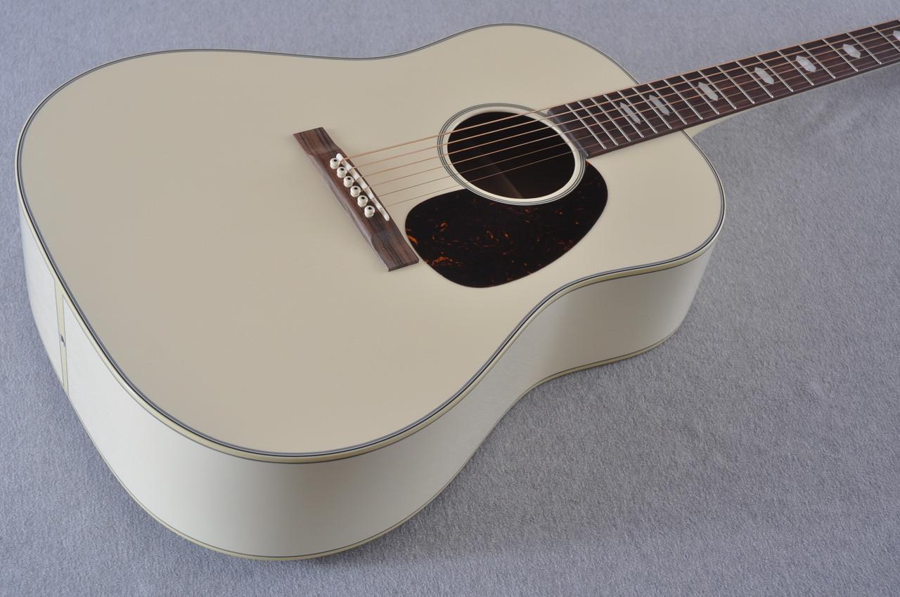 Martin Custom Shop D-18 Slope Adirondack Short Scale Antique White Guitar #2027455 - Beauty