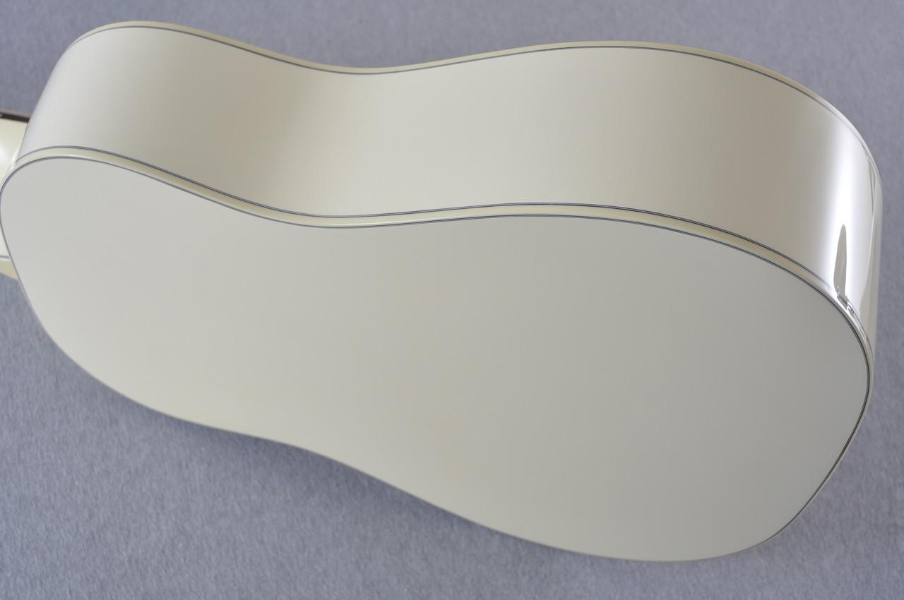 Martin Custom Shop D-18 Slope Adirondack Short Scale Antique White Guitar #2027453 - Side