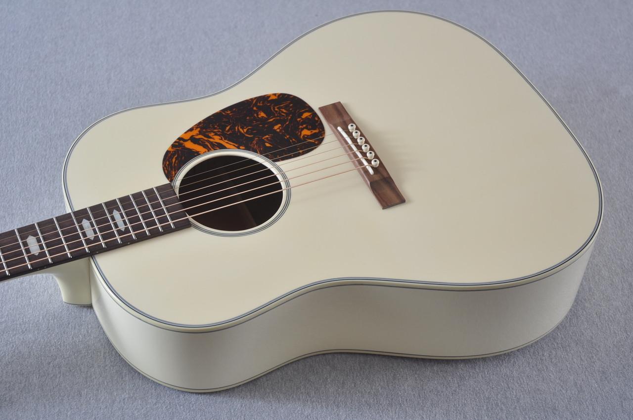 Martin Custom Shop D-18 Slope Adirondack Short Scale Antique White Guitar #2027453 - Reverse Beauty