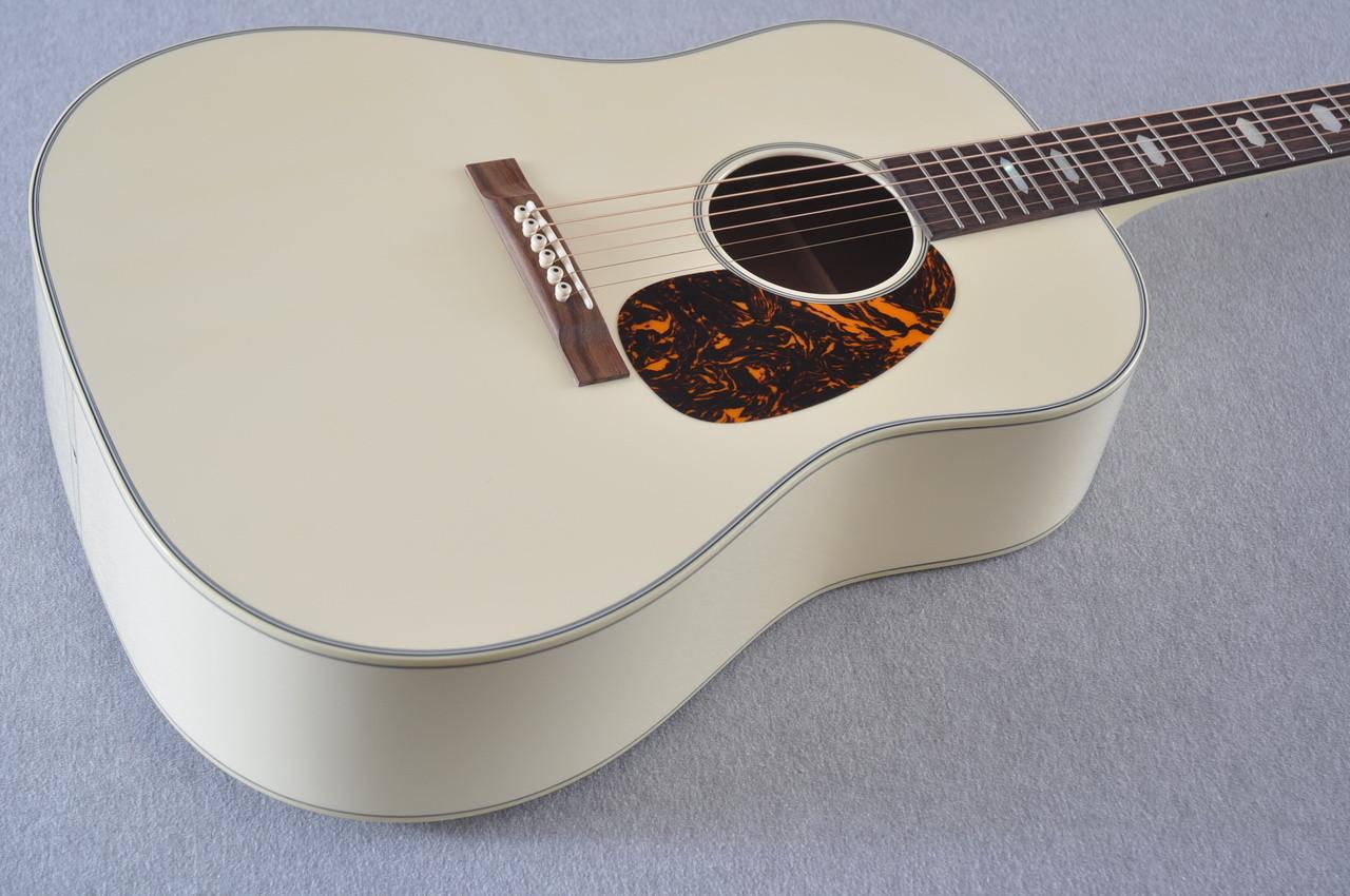 Martin Custom Shop D-18 Slope Adirondack Short Scale Antique White Guitar #2027453 - Beauty