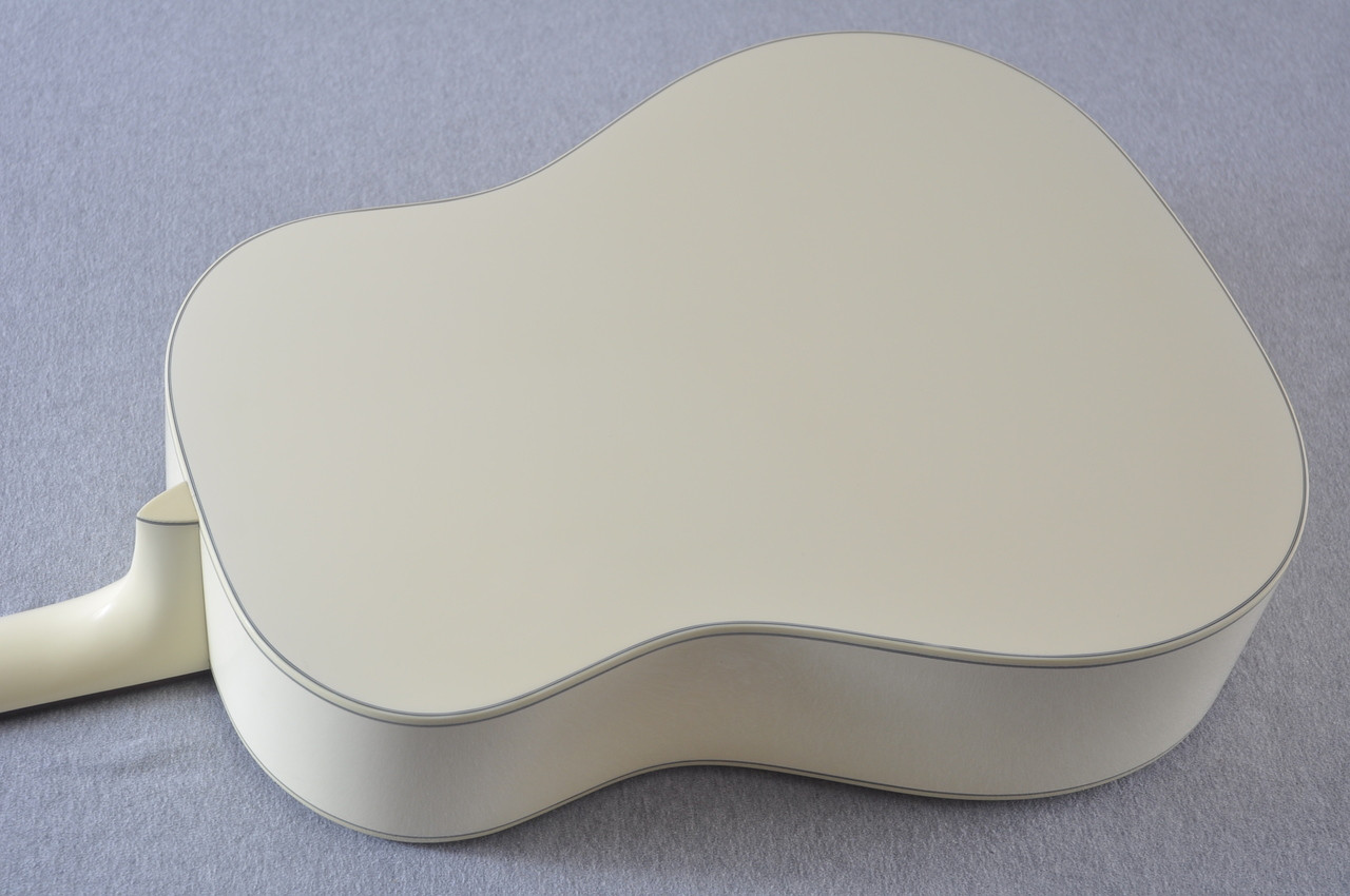 Martin Custom Shop D-18 Slope Adirondack Short Scale Antique White Guitar #2027453 - Back