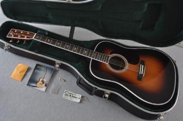 Martin D-41 Standard 1935 Sunburst Acoustic Guitar #2096455 - Case