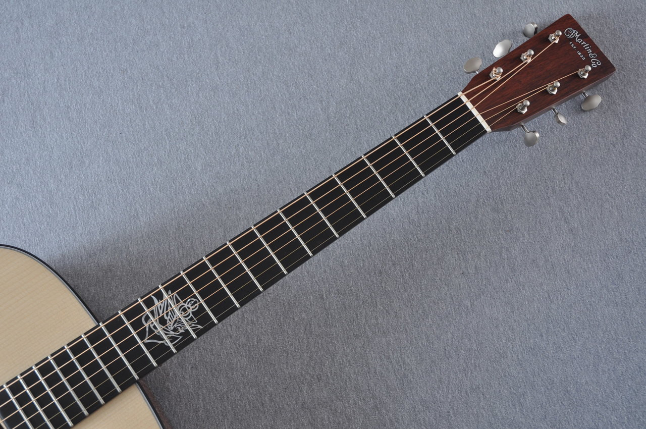 Martin Custom Shop D-18 Jason Isbell Acoustic Guitar #2116644 - Neck
