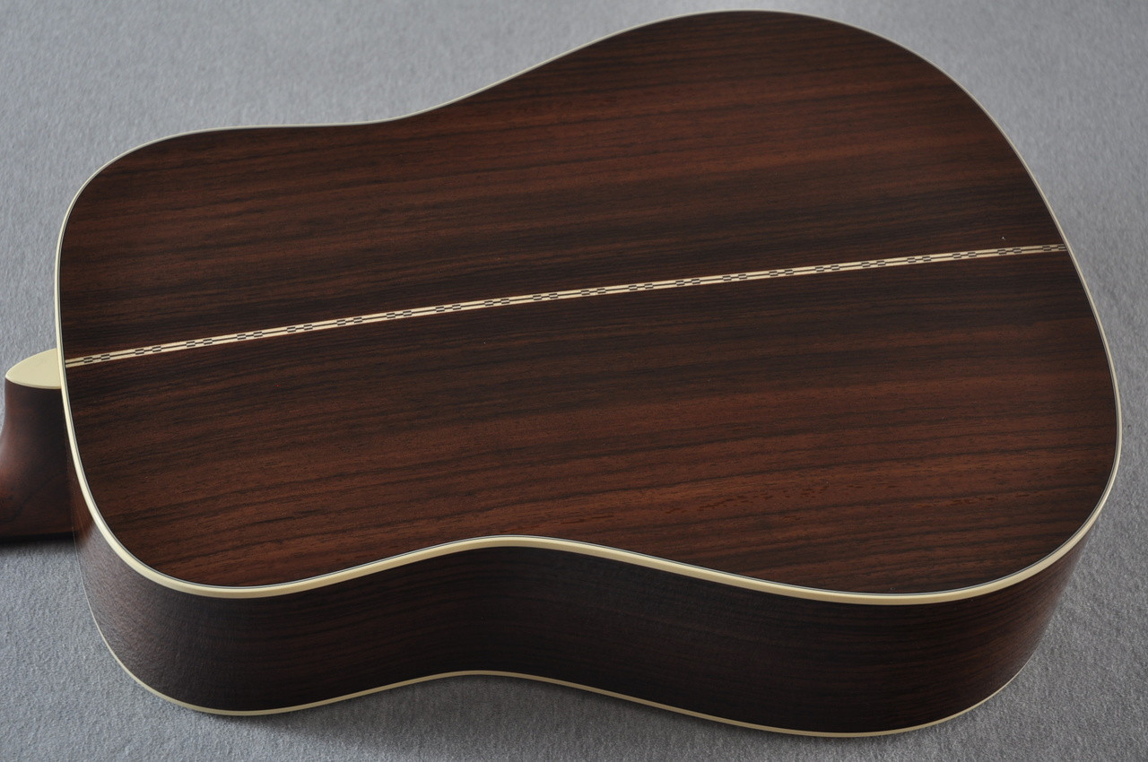 Martin D-28 (2017) Standard Dreadnought Acoustic Guitar #2126542 - Back Angle
