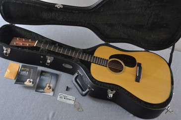 Martin D-18 Standard Acoustic Guitar #2088059 - Case