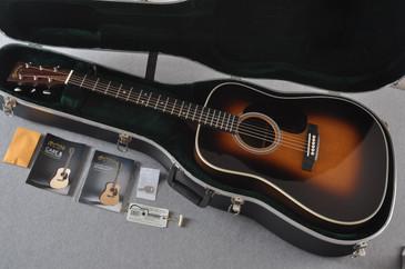 Martin D-28 (2017) 1935 Sunburst Standard Dreadnought Guitar #2128553 - Case