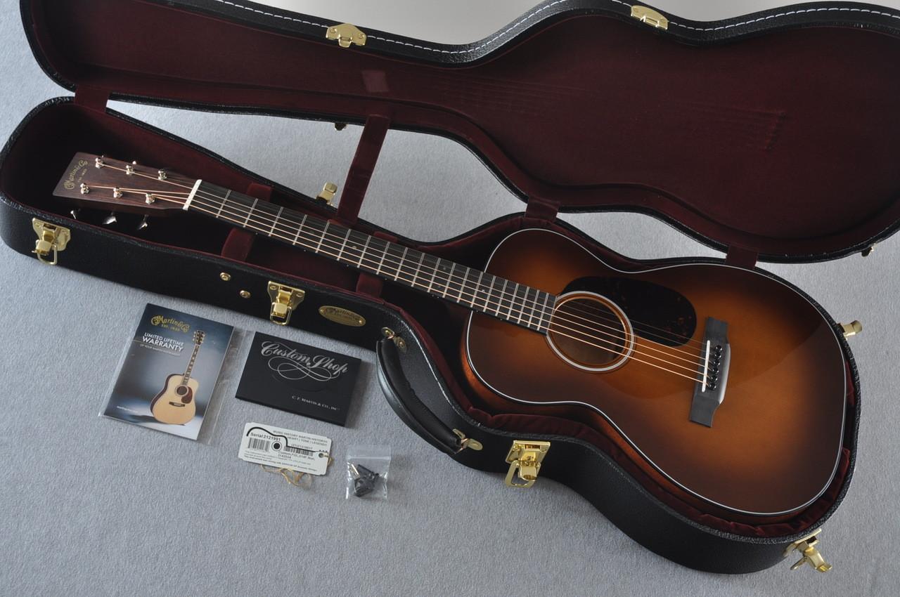 Martin Custom Shop 0-18 Adirondack Spruce Ambertone Acoustic Guitar #2121991 - Case