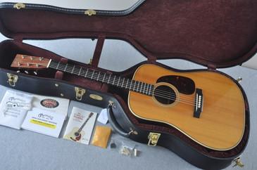 2011 Martin HD-28V Vintage Series Acoustic Guitar #1526671 - Case