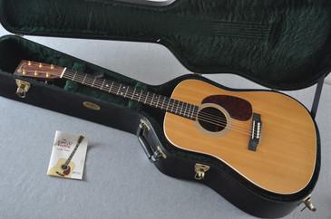 2008 Martin Custom MMV Dreadnaught #1274326 - Case