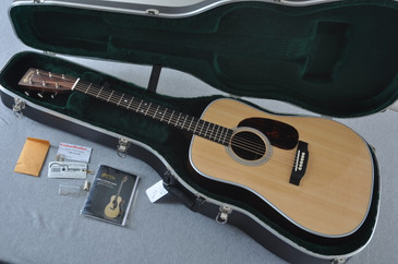 2015 Martin D-28 Standard with Upgrades Acoustic Guitar #1937184 - Case