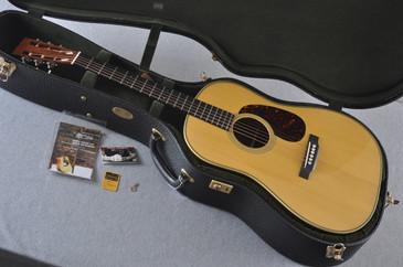 2013 Martin D-28 Authentic 1931 Adirondack Madagascar Acoustic Guitar #1686755 - Case