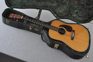 2005 Martin HD-28V with Thinline Pickup Acoustic Guitar #1049259 - Case