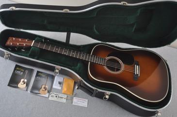 Martin D-28 (2017) Ambertone Standard Dreadnought Guitar #2139559 - Case