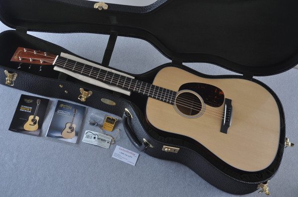 Martin D-18 Authentic 1939 VTS Adirondack Acoustic Guitar #2141448 - Case