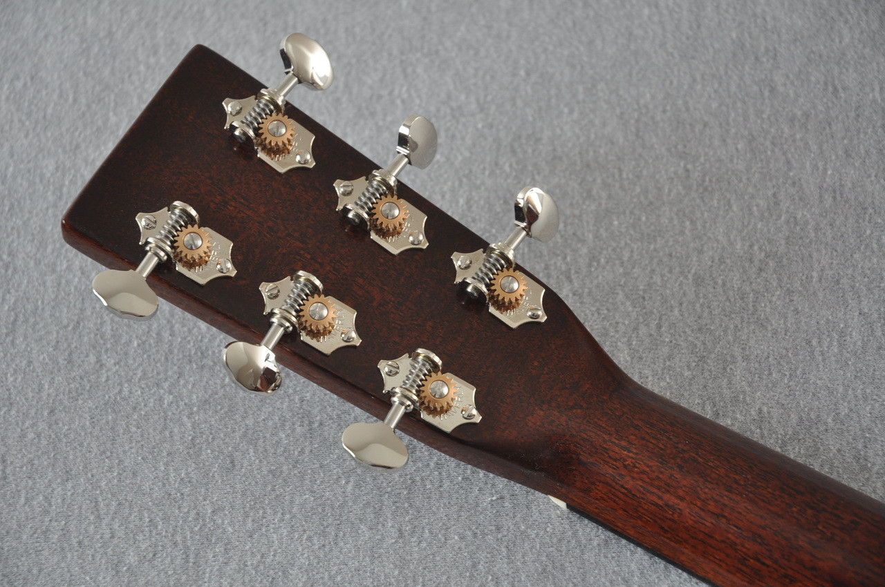Martin D-18 Authentic 1939 VTS Adirondack Acoustic Guitar #2141448 - Back Headstock