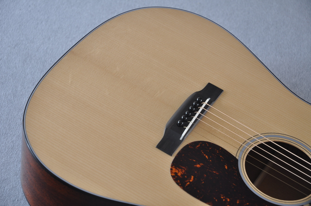 Martin D-18 Authentic 1939 VTS Adirondack Acoustic Guitar #2141448 - Bridge