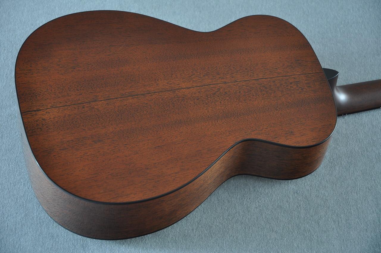 Martin Custom Shop 0-18 Adirondack Clear Acoustic Guitar #2146970 - Back Angle