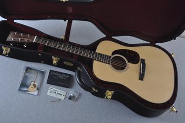 Martin Custom Shop D-18 VTS Adirondack Clear Acoustic Guitar #2083134 - Case