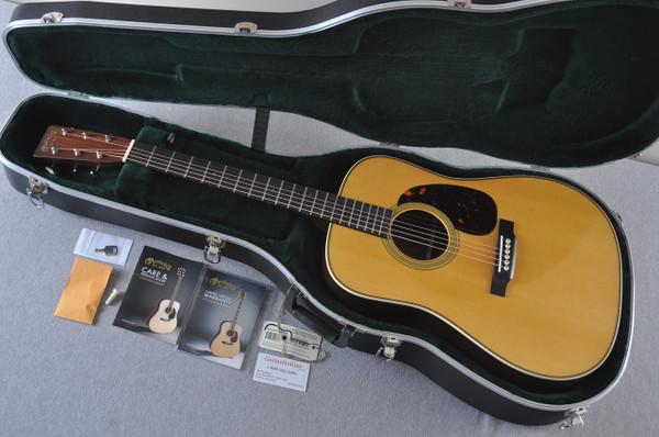 Martin HD-28 (2018) Standard Dreadnought Acoustic Guitar #2149399 - Case