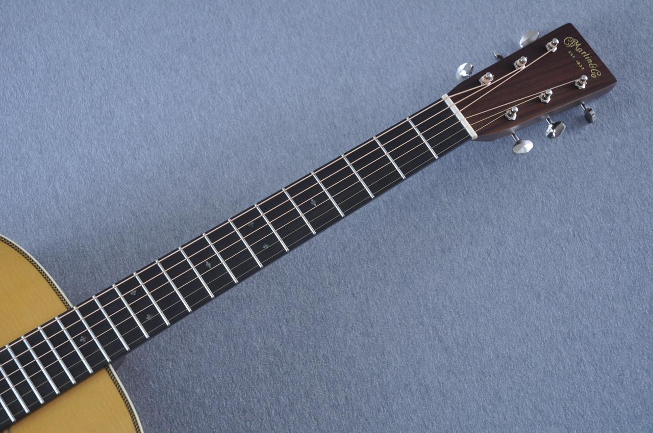 Martin HD-28 (2018) Standard Dreadnought Acoustic Guitar #2149399 - Neck