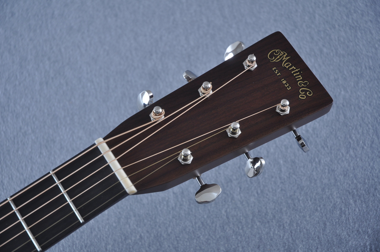 Martin HD-28 (2018) Standard Dreadnought Acoustic Guitar #2149399 - Headstock