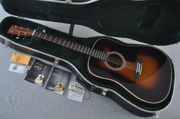 Martin HD-28 (2018) 1935 Sunburst Standard Dreadnought Acoustic Guitar #2144591 - Case