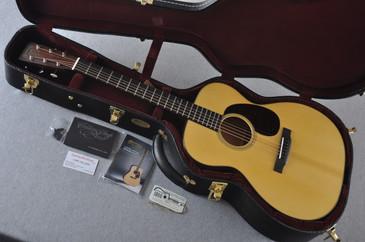 Martin Custom Shop 000-18 Adirondack Spruce Top Acoustic Guitar #2164201 - Case