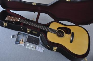 Martin Custom Shop D-18 Adirondack Spruce Acoustic Guitar #2166943 - Case