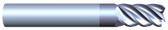 """#52502TIA----5 Flute 1/4"""" Dia. x 3/4"""" LOC x  2 1/2"""" OAL"""