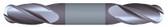 """#SBD4250BTIA----4 Flute 1/4"""" Dia. x 1/2"""" LOC x  2 1/2"""" OAL Stub Ball D/E"""