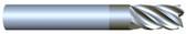 "#VR52501ALT----5 Flute 1/4"" Dia. x 3/8"" LOC x  2"" OAL  Variable Helix w Radius"