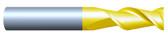 """#HP25001QUA----2 Flute 1/2""""  Dia. x 5/8"""" LOC x  3"""" OAL Aluminum Cutter"""