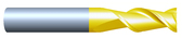 """#HP25002QUA----2 Flute 1/2""""  Dia. x 1 1/4"""" LOC x  3"""" OAL Aluminum Cutter"""