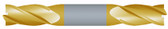 """#SBD4218TIN----4 Flute 7/32"""" Dia. x 1/2"""" LOC x  2 1/2"""" OAL Stub D/E"""