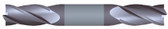 """#SBD4250TIA----4 Flute 1/4"""" Dia. x 1/2"""" LOC x  2 1/2"""" OAL Stub D/E"""