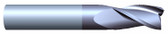 """#35001TIA----3 Flute  1/2"""" Dia. x 1"""" LOC x  3"""" OAL"""
