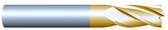 "#42502TIN----4 Flute 1/4"" Dia. x 3/4"" LOC x  2 1/2"" OAL"