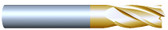 "#43755TIN----4 Flute 3/8"" Dia. x 1 1/8"" LOC x  4"" OAL"